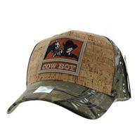 VM961 Malboro Cowboy Velcro Cap (Hunting Camo & Hunting Camo)