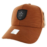VM790 Lone Star Cotton Baseball Cap Hat (Texas Orange & Texas Orange)