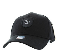 VM790 Alabama Cotton Baseball Cap Hat (Black & Black)