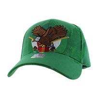VM284 Mexico Baseball Velcro Cap (Solid Kelly Green)