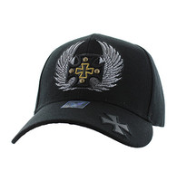 VM733 Choppers Baseball Cap (Solid Black)