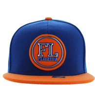 SM984 Florida State Snapback Cap (Royal & Orange)