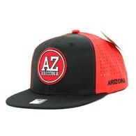 SM062 Arizona Snapback Cap (Black & Red)