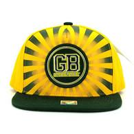 SM932 Green Bay Snapback Cap (Gold & Dark Green)