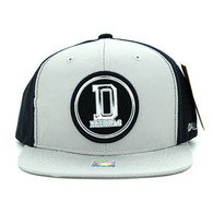 SM062 Dallas Snapback Cap (Grey & Navy)