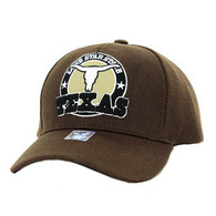 VM963 Texas Velcro Cap (Solid Brown)