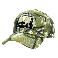 VM963 Texas Velcro Cap (Solid Hunting Camo)