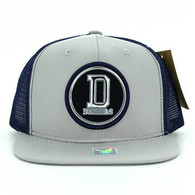 SM062 Dallas Snapback Trucker Mesh Cap (Grey & Navy)