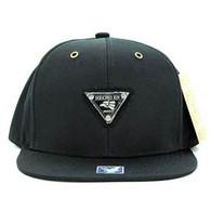 SM969 Hecho En Mexico Snapback Mesh Cap (Solid Black)
