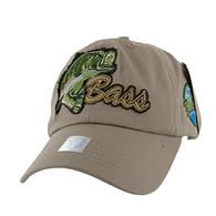 BM021 Big Bass Buckle Cap (Solid Khaki)