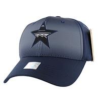 VM056 Big Star Baseball Velcro Cap (Solid Navy)