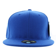 SP022 One Tone Size Fitted (Solid Royal) - Size 7 3/8