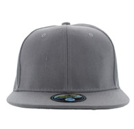 SP022 One Tone Size Fitted (Solid Light Grey) - Size 6 7/8