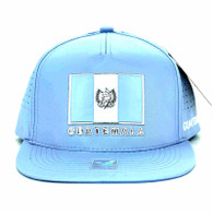 SM962 Guatemala Snapback Cap (Solid Sky Blue)