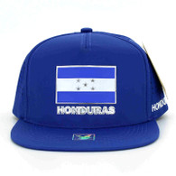 SM962 Honduras Snapback Cap (Solid Royal)