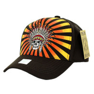 VM055 Native Pride Velcro Cap (Solid Black)