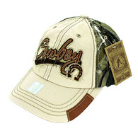 BM942 Cowboy Buckle Cap (Khaki & Hunting Camo)