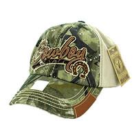 BM942 Cowboy Buckle Cap (Hunting Camo & Khaki)