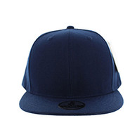 SP002 One Tone Snapback Cap (Solid Navy)