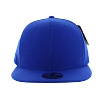 SP002 One Tone Snapback Cap (Solid Royal)