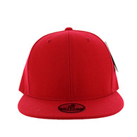 SP002 One Tone Snapback Cap (Solid Red)
