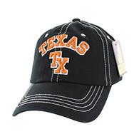 BM001 Texas Washed Cotton Cap (Solid Black)
