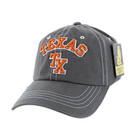BM001 Texas Washed Cotton Cap (Solid Charcoal)