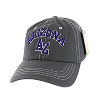 BM001 Arizona Washed Cotton Cap (Solid Charcoal)