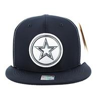 SM062 Star Snapback Cap (Navy & White)