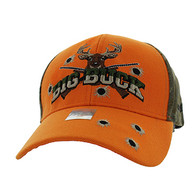 VM555 Big Buck Velcro Cap (Orange & Hunting Camo)