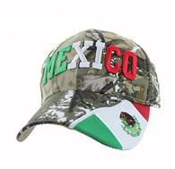 VM001 Mexico Velcro Cap (Solid Hunting Camo)