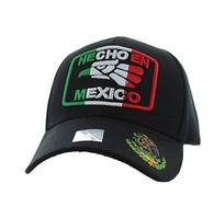 VM168 HECHO EN MEXICO Eagle Velcro Cap (Solid Black)