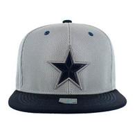 SM013 Star Snapback Cap (Grey & Navy)