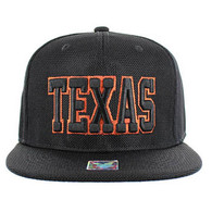 SM013 Seattle Whole Mesh Snapback (Solid Texas)