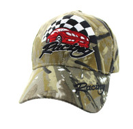 VM448 Racing Velcro Cap (Solid Hunting Camo)