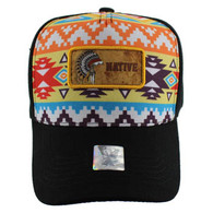 VM001 Native Pride Velcro Cap (Solid Black)