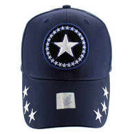VM002 Big Star Baseball Cap (Solid Navy)