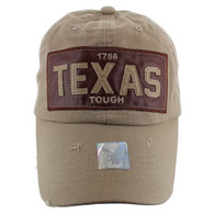 BM015 Texas Cotton Buckle Cap (Solid Khaki)