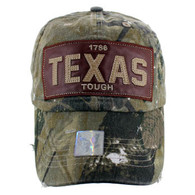 BM015 Texas Cotton Buckle Cap (Solid Hunting Camo)