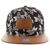 SM051 Everyday Friday Snapback (Brown & Brown)