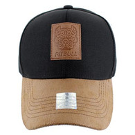 VM569 Pitbull Baseball Cap (Black & Brown)
