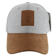 VM569 Pitbull Baseball Cap (Grey & Brown)
