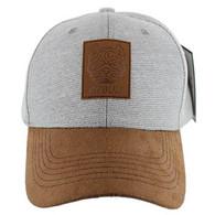 VM569 Pitbull Baseball Hat (Grey & Brown)