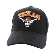 VM501 Kids Texas Velcro Cap (Solid Black)