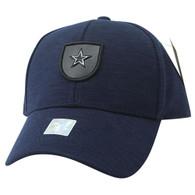 VM790 Star Cotton Baseball Cap Hat (Navy & Navy)
