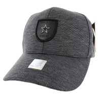 VM790 Lone Star Cotton Baseball Cap Hat (Charcoal & Charcoal)