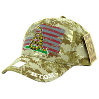 VM023 Don't Thread on Me Velcro Cap (Solid Digital Camo)