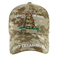 VM023 Liberty or Death Velcro Cap (Solid Digital Camo)