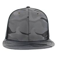 SP100 Plain Blank Snapback Cap (Solid Light Grey)