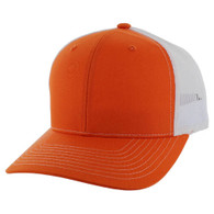 SP815 Blank Cotton Classic Mesh Trucker Cap (Orange & White)